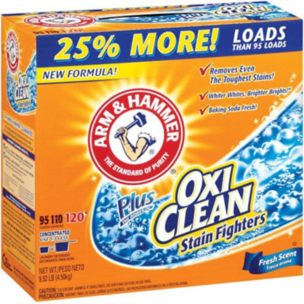 H E B Arm Hammer Plus Oxiclean Stain Fighters Fresh Scent 130