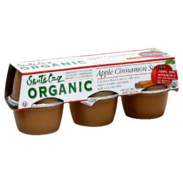 Santa Cruz Organics Apple Sauce Cinnamon