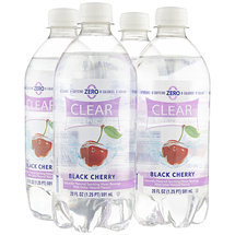 Clear American Black Cherry Sparkling Water Beverages