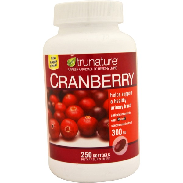 Trunature Cranberry 300 Mg From Costco In Austin Tx Burpy Com