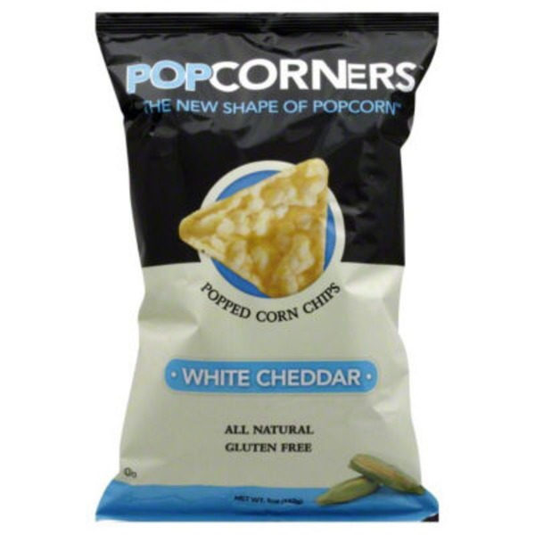 PopCorners Popped Corn Chips Gluten Free White Cheddar