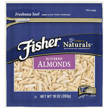 Fisher Chef's Naturals Slivered Almonds