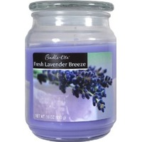 Candle Lite Fresh Lavender Breeze Candle