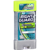 Right Guard Xtreme Fresh Energy Gel Antiperspirant & Deodorant