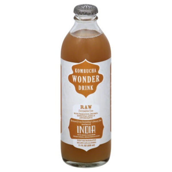 Wonder Kombucha Raw Fermented Tea India