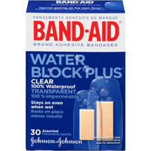 Band-Aid Brand Water Block Plus Adhesive Bandages