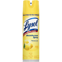 Lysol Lemon Breeze Scent Disinfectant Spray