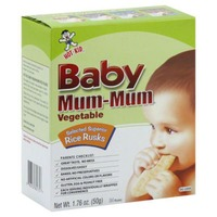 Baby Mum-Mum Hot Kid Baby Mum-Mum Organic Rice Rusks Vegetable