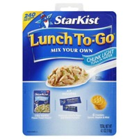 StarKist Mix Your Own Kit Chunk Light Tuna In Water Lunch To-Go