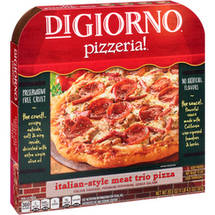 DiGiorno Pizzeria! Italian Style Meat Trio Pizza