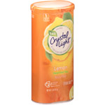 Crystal Light Decaffeinated Natural Lemon Iced Tea Drink Mix