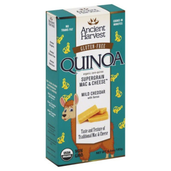 Ancient Harvest Gluten-Free Supergrain Mild Cheddar Mac & Cheese