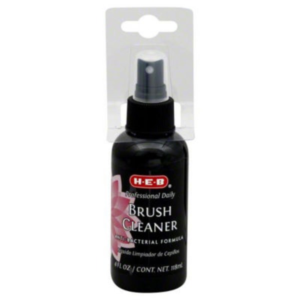 H-E-B Professional Daily Brush Cleaner Anti Bacterial Formula