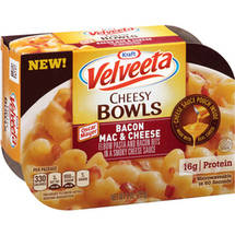 Kraft Velveeta Cheesy Bowls Bacon Mac & Cheese