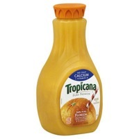 Tropicana Calcium + Vitamin D No Pulp Orange Juice