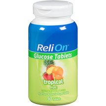 ReliOn Tropical Fruit Glucose Tablets