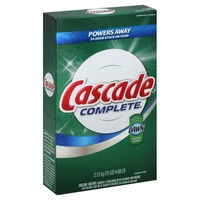 Cascade Complete Powder Dishwasher Detergent, Fresh Scent, 75 Oz Dish Care