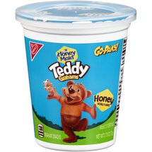Nabisco Honey Maid Teddy Grahams Go-Paks! Honey Graham Snacks