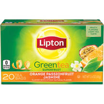 Lipton Orange Passionfruit & Jasmine Green Tea Bags