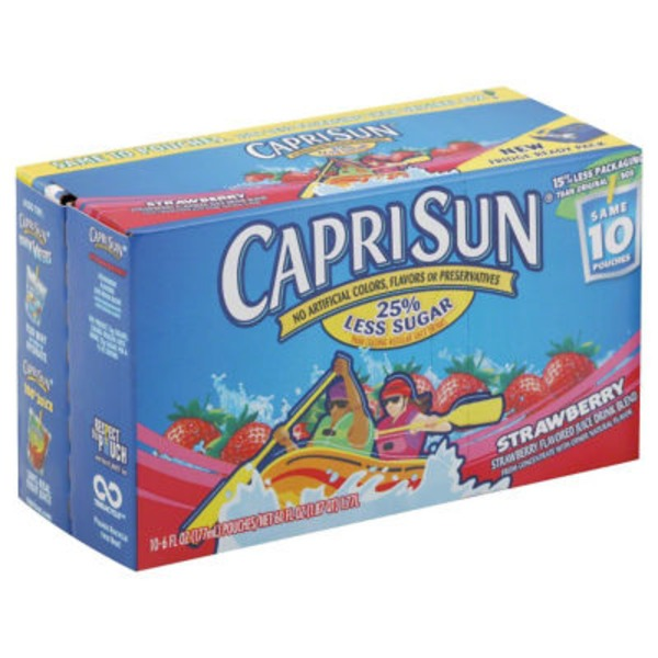 Caprisun Strawberry Juice Drink