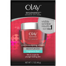 Olay Regenerist Micro-Sculpting Cream Fragrance-Free 1.7 oz.