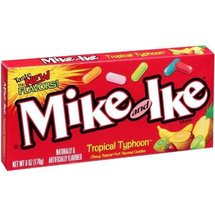 Mike and Ike Tropical Typhoon Chewy Fruit Flavored Candies