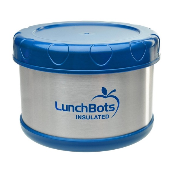 Lunchbots 16 Oz Insulated Food Container Dark Blue