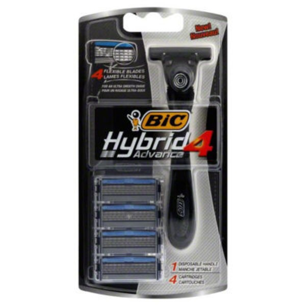 bic s ultima shaver first four blade disposable