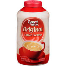 Great Value Non-Dairy Coffee Creamer