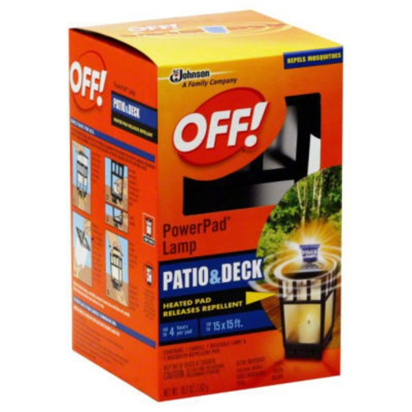 Off! Mosquito Lamp Starter Kit Repellent