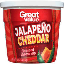 Great Value Jalapeno Cheddar Flavored Cheese Dip