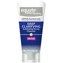 Equate Beauty Deep Clarifying Exfoliating Scrub Cleanser