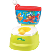 Sesame Street - Elmo Adventure Potty Chair