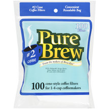 Pure Brew Cone Style Coffee Filters