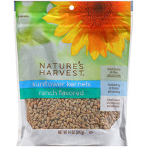 Nature's Harvest Ranch Flavored Sunflower Kernels