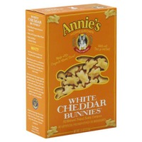 Annie's Homegrown White Cheddar Snack Crackers Cheddar Bunnies