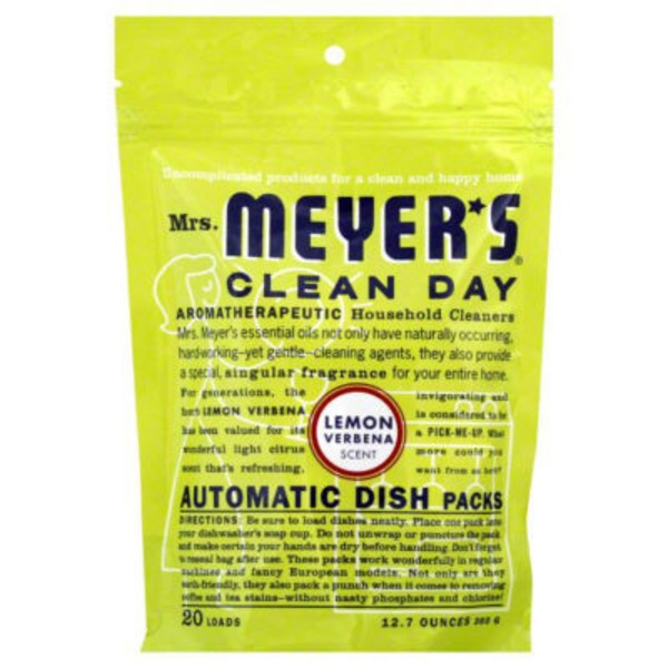Mrs. Meyer's Lemon Verbena Automatic Dish Cleaner