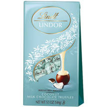 Lindt Lindor Coconut Milk Chocolate Truffles
