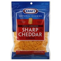 Kraft Natural Cheese Shredded Sharp Cheddar Cheese