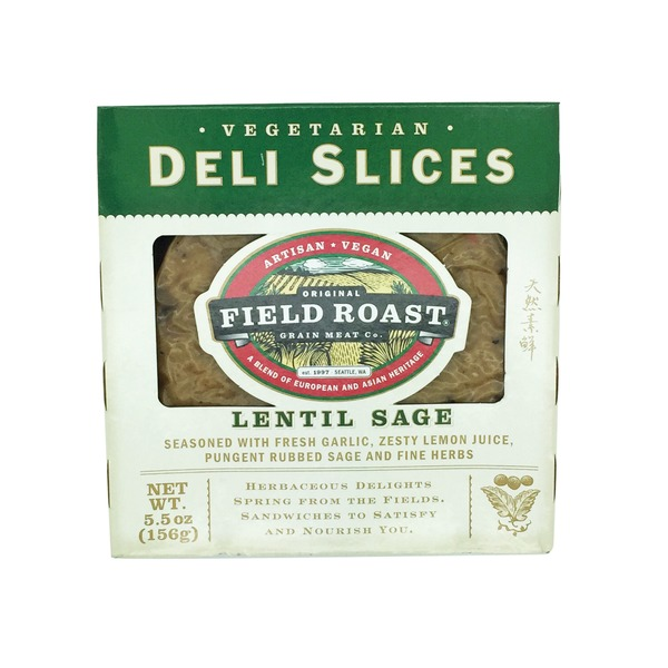 Field Roast Lentil Sage Vegan Deli Slices
