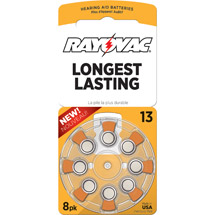 Rayovac Type 13 Hearing Aid Batteries