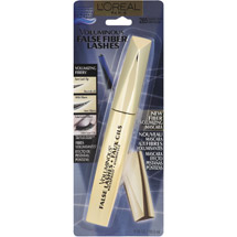 L'Oreal Paris Voluminous False Fiber Lashes Waterproof Mascara 285 Blackest Black Blackest Black
