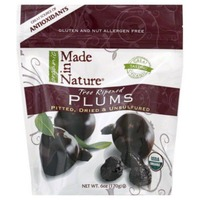 Made in Nature Organic Tree Ripened Plums