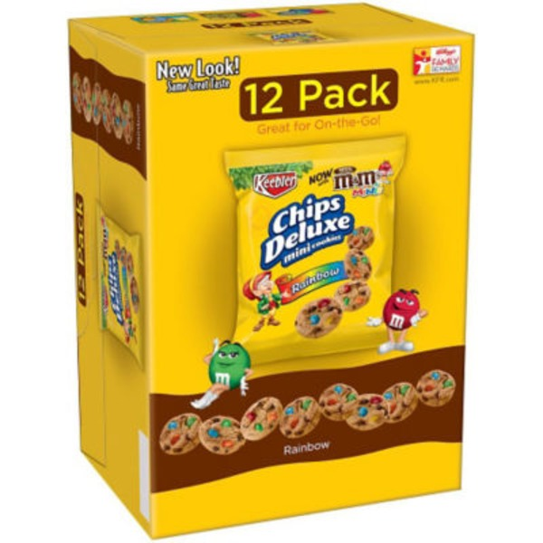 Keebler Chips Deluxe Rainbow Mini Cookies