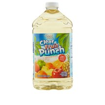 Great Value Clear Fruit Punch