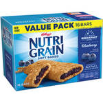 Kellogg's Nutri-Grain Blueberry Cereal Bars Value Pack