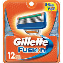 Gillette Fusion Razor Cartridge Refills