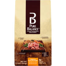Pure Balance Chicken & Brown Rice Recipe Cat Food