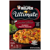 Betty Crocker Hamburger Helper Ultimate Cheesy Fiesta Nacho