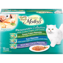 Fancy Feast Elegant Medleys Primavera Collection Cat Food
